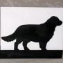 Brev / servett ställ Hund Klicka på bilden för varianter - Golden