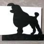 Brev / servett ställ Hund Klicka på bilden för varianter - Stor Pudel