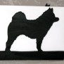Brev / servett ställ Hund Klicka på bilden för varianter - Gråhund