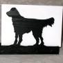 Brev / servett ställ Hund Klicka på bilden för varianter - Flat