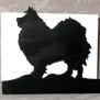 Brev / servett ställ Hund Klicka på bilden för varianter - Lapphund