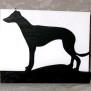 Brev / servett ställ Hund Klicka på bilden för varianter - Greyhound