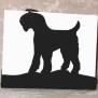 Brev / servett ställ Hund Klicka på bilden för varianter - snauser