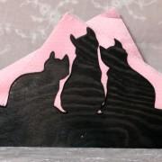 Brev / servett ställ Katter Klicka på bilden för varianter