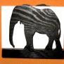 Brev / servett ställ Vilt Klicka på bilden för varianter - elefant