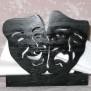 Brev / servett ställ Kuriosa klicka på bilden för fler varianter - Teatermasker
