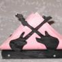 Brev / servett ställ Kuriosa klicka på bilden för fler varianter - gitarrer