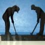 Brev / servett ställ Kuriosa klicka på bilden för fler varianter - Golf