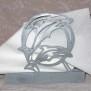 Brev / servett ställ Kuriosa klicka på bilden för fler varianter - delfin 2