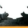 Brev / servett ställ Katter Klicka på bilden för varianter - Katter som sträcker sig