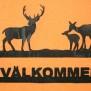 Välkommen Vilt Klicka på bilden för varianter - Hjort