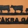 Välkommen Lantliv Klicka på bilden för varianter - Gårdskylt kor