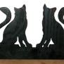 Brev / servett ställ Hund Klicka på bilden för varianter - två katter