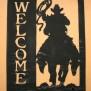 Välkommen Western Klicka på bilden för fler alternativ - Ridande cowboy