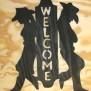 Välkommen Western Klicka på bilden för fler alternativ - Cowboy cowgirl