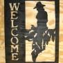 Välkommen Western Klicka på bilden för fler alternativ - Cowboy på sadel