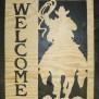 Välkommen Western Klicka på bilden för fler alternativ - Welcome Ridande cowboy