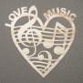 Hjärtan Klicka på bilden för varianter - Musikhjärta