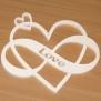 Hjärtan Klicka på bilden för varianter - Evighets hjärta Love