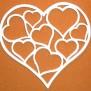 Hjärtan Klicka på bilden för varianter - Hjärta med småhjärtan