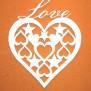 Hjärtan Klicka på bilden för varianter - Hjärta med småhjärtan 2