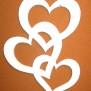 Hjärtan Klicka på bilden för varianter - 3 hjärtan