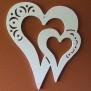 Hjärtan Klicka på bilden för varianter - dubbelt hjärta