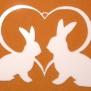 Hjärtan Klicka på bilden för varianter - Kaniner i hjärta