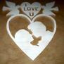 Hjärtan Klicka på bilden för varianter - Par i hjärta 30 cm
