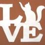 Love Klicka på bilden för olika varianter - Katt