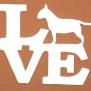 Love Klicka på bilden för olika varianter - Bull terier