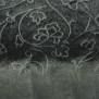 Ekologisk Bomullstrikå Välj varianter - svart medblommor