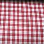 Bomull Välj Produktvarianter - Köksruta röd