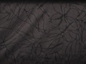 Viskos o  Lurex - Mönstrad Polyester Viskos