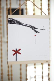 Posters Fröken Snö 30x30 50x50 - Poster 30x30cm, välj bland 11 motiv