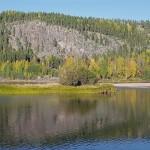 Solanderleden sjö vid leden