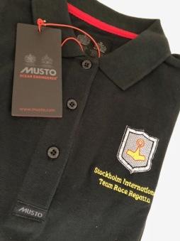 Musto Piké tröja Herr Svart