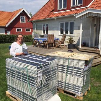 Debutboken Falkenbergsmorden - Bittert svek av kvinnliga deckarförfattaren C T Karlsson