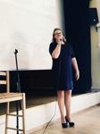 Tal av kvinnliga deckarförfattaren C T Karlsson med debutboken Falkenbergsmorden Bittert svek