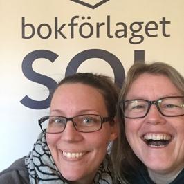 Halländska deckarförfattaren C T Karlsson med Falkenbergsmorden Högt fall antagen på Bokförlaget SOL