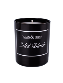 Solid Black - Clean & Shine Solid Black Candle