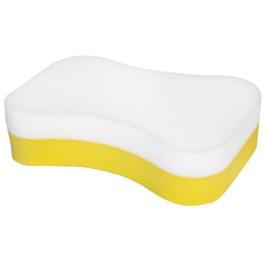 White/Yellow Sponge