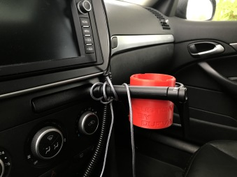 Can-adapter for the can holder - Red version