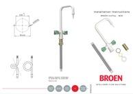 94G0134 - Installation of BROEN UniFlex 1-hole 2-handles mixer 2536XXXXXXX-52B (572 KB)