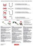 99B0059 - Installation instructions for Broen-Lab uniflex flexible hoses & pipes (293 KB)