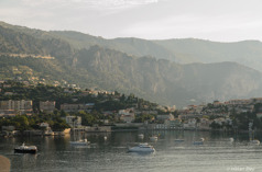 Morgondis över Villefranche, Provence
