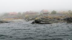 Dimma över Röder, Stockholms skärgård