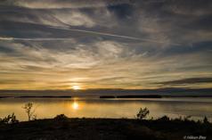 Solnedgång i maj