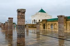 Mohammed V:s mausoleum, Rabat