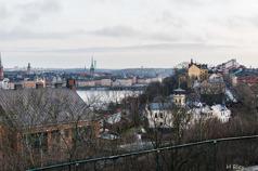 Stockholm från Skinnarviksbergen